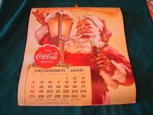 Original 1956 Coca-Cola Calendar - Coke Girls - NICE - SEE PHOTOS