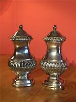 Vintage EPNS Silver Plated Grenadier English Made Cruet Set Salt and Pepper