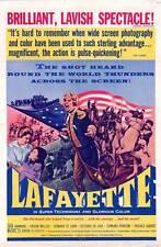 LAFAYETTE Movie POSTER 27x40 Pascale Audret Jack Hawkins Michel Le Royer Folco