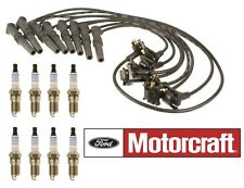1996-1998 Ford Mustang 4.6L SOHC Platinum Spark Plugs Ignition Wires Tune Up Kit