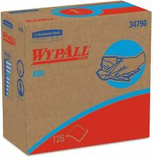 Wypall 34790Ct X60 Cloths,White, 9 1/8 X 16 7/8, 126 Per Box (Case Of 10 Boxes)