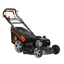 """Trex Lawn Mower Self Propelled 218cc 21"""" Lawnmower 4 Stroke Catch Mulch"""