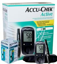 Accu-Chek Active Blood Glucose Meter Sugar Monitoring System Kit With 50 Strips