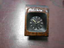 Uhr Analog Opel Calibra  Bj. 90-97 90306467 Holzoptik