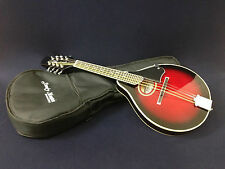 Smoky Mountain SM60 BCS A-style Mandolin Black Cherry Burst w/Deluxe padded bag