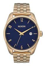 NIXON Bullet Women's Watch - A418 2625, Light Gold / Navy