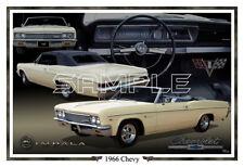 1966 Chevy Impala Poster Print