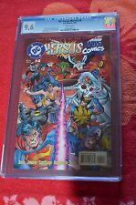 CGC GRADED 9.6 DC Versus Marvel #4 D.C-Marvel Comics (1996) Art Dan Jurgens,Cla
