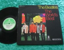 The Beatles LP The world's Best (green white odeon) TOP ZUSTAND!