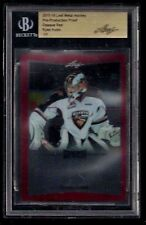 Ryan Kubic 1/1 OPAQUE RED Pre-Production PROOF Leaf Metal BGS SLABBED! Vancouver
