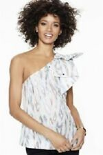 NEXT One Shoulder top With Bow Trim Size 18 BNWT Party Clubbing Sparkle Metallic