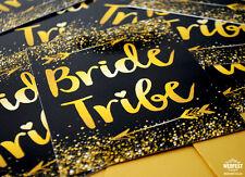Bride Tribe Hen Party Invitations