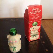 Vintage Avon Snug Cub Sweet Honesty NIB