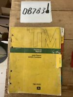 John Deere 4400 Combine Technical Manual , TM-1020