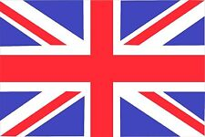"""VALUE BUDGET 18 x 12"""" UK GB UNION JACK COUNTRY FLAG OF GREAT BRITAIN SLEEVED"""