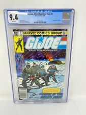 G.I. Joe A Real American Hero #2 1982 Marvel - CGC 9.4 White Pages - 1st Print