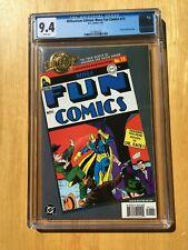 MILLENNIUM EDITION: MORE FUN COMICS #73 CGC 9.4 (DC 1/2001) 1st App. of AQUAMAN