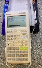 New ListingCasio fx-9750Giii - We Graphing Graphic Calculator White