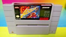 Axelay - Super Nintendo SNES Cart Tested - Authentic RARE ! Konami