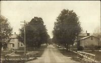 Berkshire NY Main Street South c1910 Real Photo Postcard