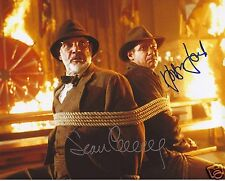 INDIANA JONES - HARRISON FORD & SEAN CONNERY AUTOGRAPH SIGNED PP PHOTO POSTER