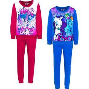 Abbigliamento bambina tuta unicorno Little Pony da bimba 3 4 6 8 anni completo
