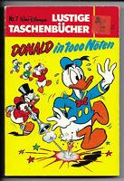 Walt Disneys Lustige Taschenbücher Nr.7 von 1980 Donald in 1000 Nöten - TOP
