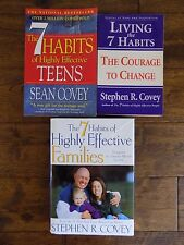 The 7 Habits of Highly Effective People Teens Families Stephen R Covey Books Lot