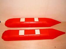Schwimmer (rot) für Hubschrauber , Länge 650mm, für 6,5 - 10 ccm oder Elektro