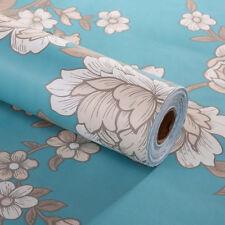 Vintage Floral Wallpaper Self Adhesive Contact Paper Shelves Drawer Shelf Liner