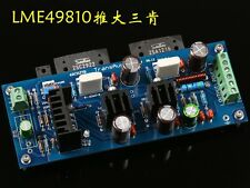 Finished LME49810TB+ 2SC2922/2SA1216 MOSFET mono amplifier board FET AMP