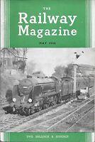 THE RAILWAY MAGAZINE May 1960 Building MGWR * Carlisle Pier * Evening Star