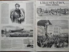 L' ILLUSTRATION 1859 N 859 LES AFFAIRES D' ITALIA : IL SIGNOR BUONCOMPAGNI