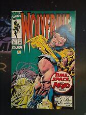 CB6166 Wolverine #54 Marvel Comics 1992 VF 8.5