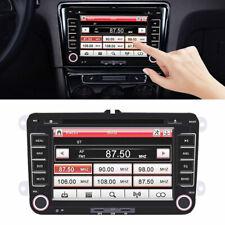 """Autoradio 7"""" 2Din GPS Navigation DVD Player Bluetooth USB Für Volkswagen DE"""