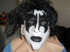 More details for kiss gene simmons latex full head mask