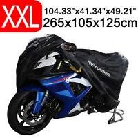 XXL Waterproof Outdoor Motorcycle Motorbike Scooter Cover Dust UV Rain Protector