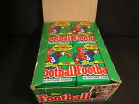 100 OLD VINTAGE TOPPS FOOTBALL CARDS ~ SEALED WAX PACKS LOT