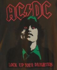T-SHIRT AC DC Lock Up Your Daughters Divided Small Concert T Shirt Unisex