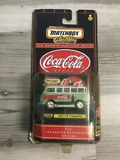MATCHBOX COCA COLA 1967 VW TRANSPORTER ENDURING CHARACTERS EDITION