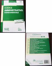 Codice amministrativo fondamentale 2014 Edizioni Giuridiche Simone diritto norme