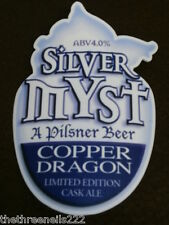 BEER PUMP CLIP - COPPER DRAGON SILVER MYST