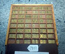 H.P. Preis Engraving Machine Co. 4A Font Style No. 3S-1 (Inv.19107)