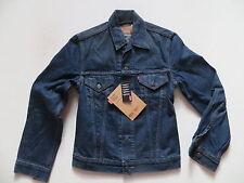 Levi's® Biker Jacke Jeansjacke, Gr. S, NEU ! Vintage wash Denim, Slim Trucker !