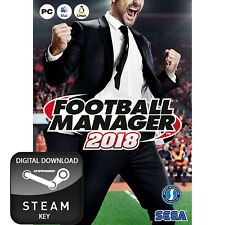 FOOTBALL MANAGER 2018 PC, MAC AND LINUX STEAM KEY