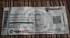 Ticket beendet Division temporada 2018/19 Málaga CF vs. CD Tenerife 08.09.2018