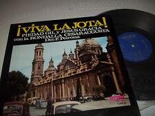 Viva La Jota LP Piedad Gil Y Jesus Gracia on Antena Records Spain Excellent