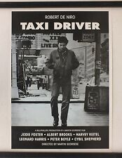 """Taxi Driver Movie Poster Robert De Niro Vivid Images 25x35"""" GREAT Fast Shipping"""