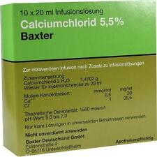 CALCIUMCHLORID Lösung 5,5% Ampullen 10X20 ml PZN 1350185