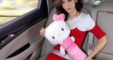 Hello Kitty Seat Belt Cover PP Cotton Auto Belt Covers Kids Safety Shoulder Car